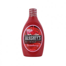 HERSHEYS SYRUP STAWBERRY 623GM