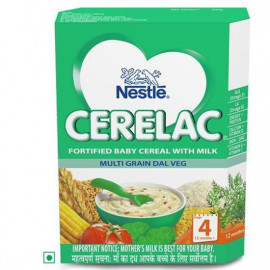 CERELAC STAGE 4 MULTIGRAIN DAL VEG 300GM