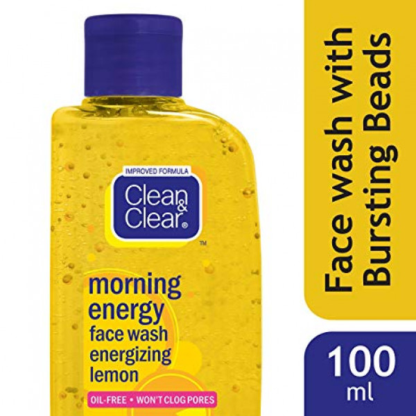 CLEAN & CLEAR MORN. ENERGY LEMON FACE WASH 100ML
