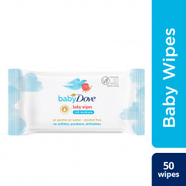 BABY DOVE RICH MOISTURE WIPES 50 WIPES