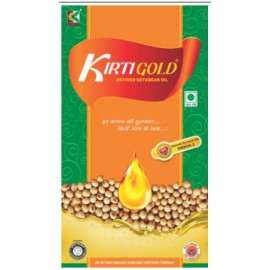 KIRTI GOLD SOYABEAN OIL CAN 5LTR