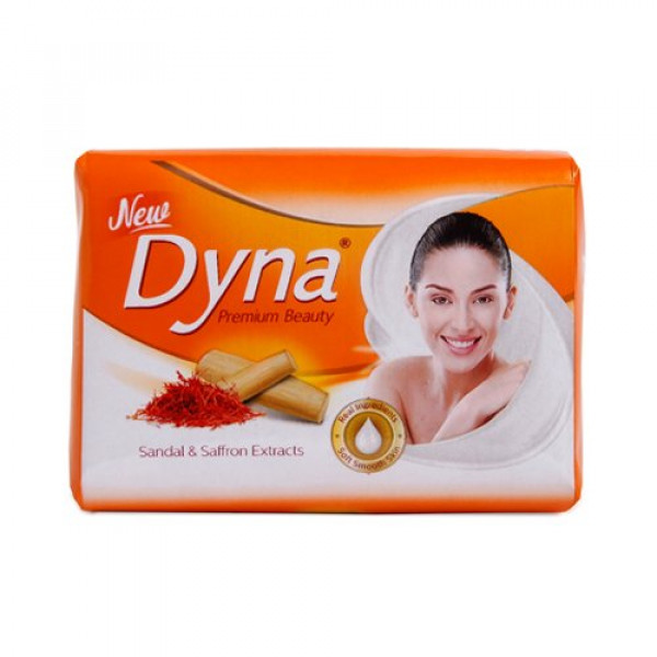 DYNA SANDAL & SAFFRON EXTRACTS SOAP PACK 5 X 100GM