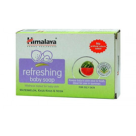 HIMALAYA REFRESHING BABY SOAP 125GM