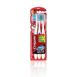 COLGATE 360 SURROUND SOFT TOOTH BRUSH BUY 2 GET 1
