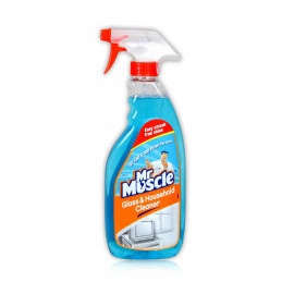 MR MUSCLE GLASS &HOUSEHOLD CLEANER 500ML