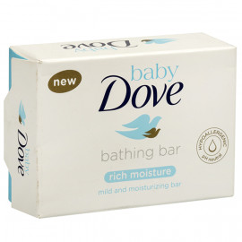 BABY DOVE BATHING BAR 225 GM