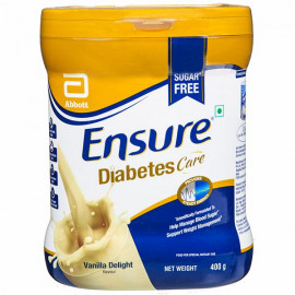 ENSURE DIABETES CARE SUGAR FR. VANILLA DEL 400G