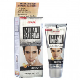 EMAMI FAIR AND HANDSOME LASER 12 AW+MB CREAM 15GM