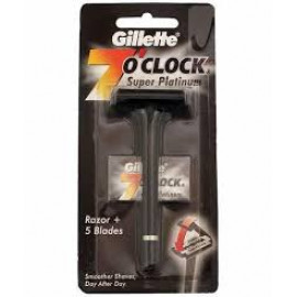 GILLETTE 7 O CLOCK SUPER PLATINUM