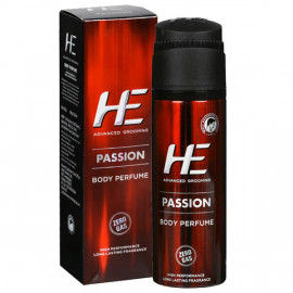 HE PASSION BODY PERFUME 100GM