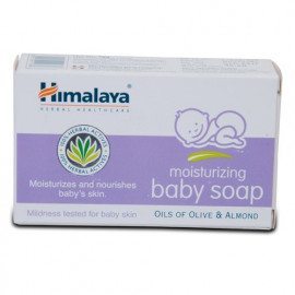 HIMALAYA MOISTURIZING BABY SOAP 75GM