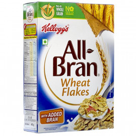 KELLOGGS ALL BRAN WHEAT FLAKES 425GM