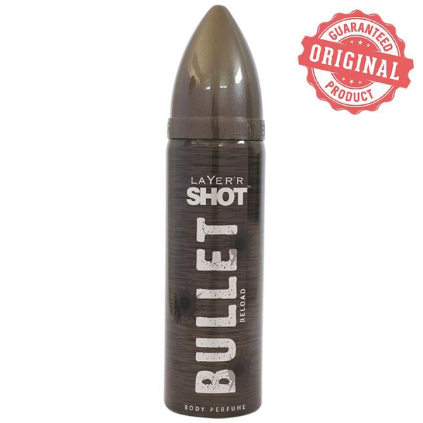 LAYERR SHOT BULLET RELOAD BODY PERFUME 120ML