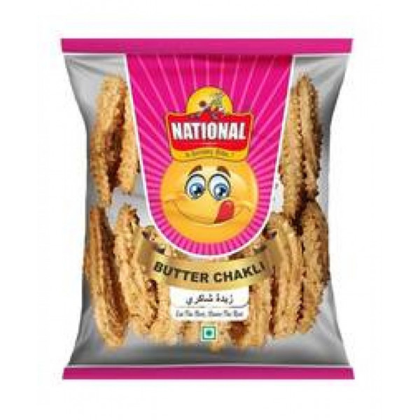 NATIONAL MASALA BUTTER CHAKLI 100GM