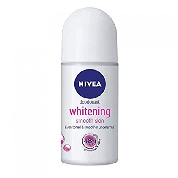 NIVEA WHITENING ROLL ON 50ML
