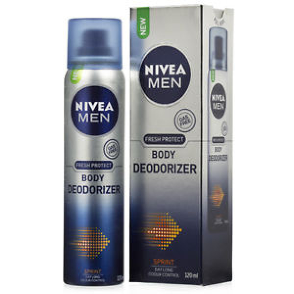 NIVEA MEN FRESH PROTECT BODY DEODORIZER SPRINT 120ML