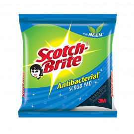 SCOTCH BRITE ANTIBACTERIAL SCRUB PAD 3M 55RS
