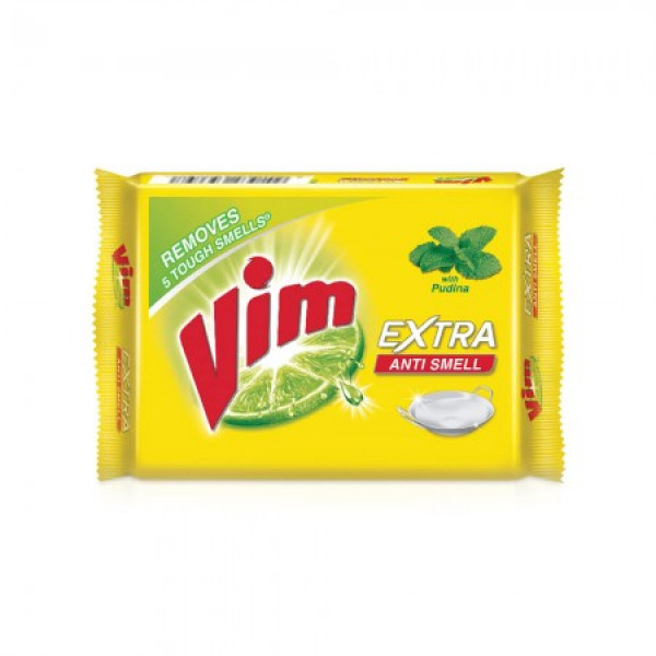 VIM EXTRA ANTI SMELL SOAP 130GM