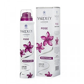 YARDLEY  BREEZ DEO 150ML
