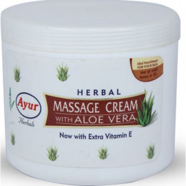 AYUR HERBAL MASSAGE CREAM WITH ALOE VERA 80ML