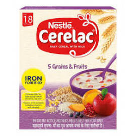 CERELAC 5 GRAINS & FRUITS 300GM STG5
