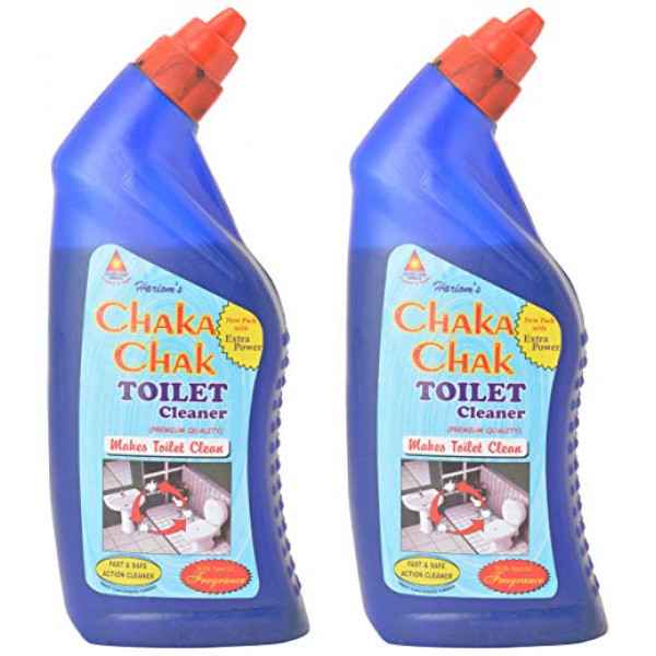 HARIOMS CHAKA CHAK TOILET CLEANER 500GM