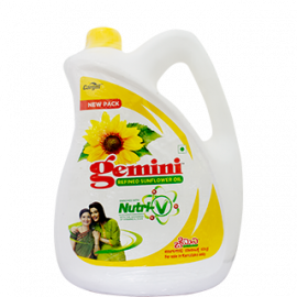 GEMINI REFINED SOYABEAN OIL CAN 5LITRE