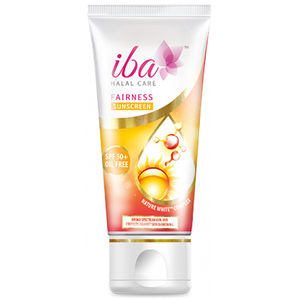 IBA FAIRNESS SUNSCREEN SPF 50 OIL FREE 60GM