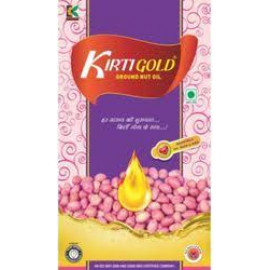 KIRTI GOLD GROUND NUT OIL 1 LIT