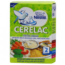 CERELAC WHAT RICE MOONG DAL VEG KHICHDI S2 300GM